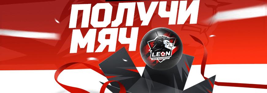 leon фирменный мяч